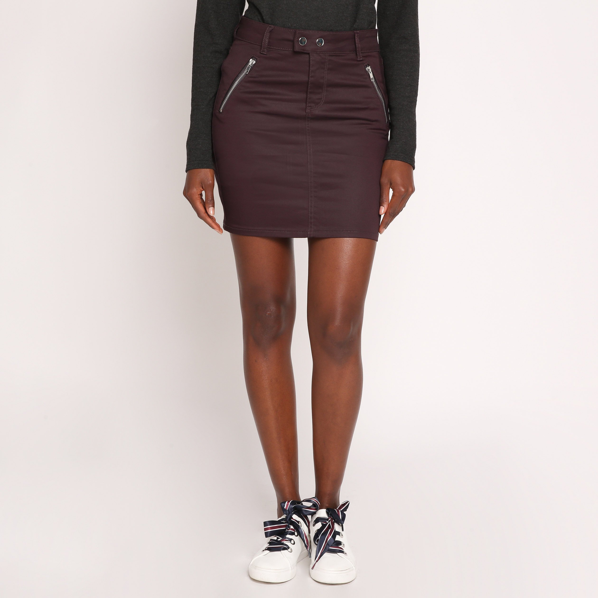jupe-droite-en-tissu-enduit-rouge-fonc-femme-fp-36125312220020184