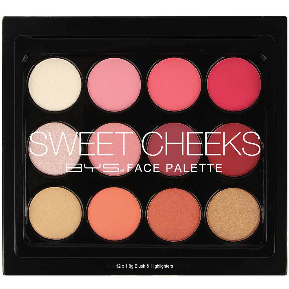 BYS Palette Blush 12 Fards à joues