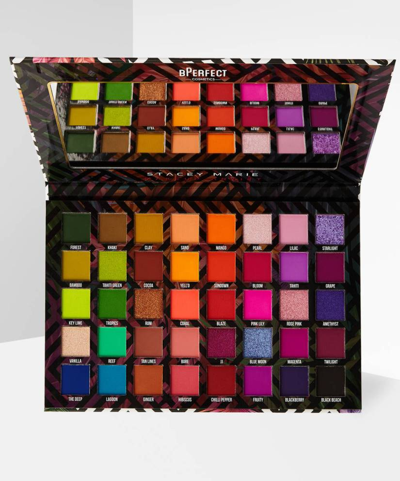 BPERFECT X STACEY MARIE CARNIVAL III LOVE TAHITI PALETTE