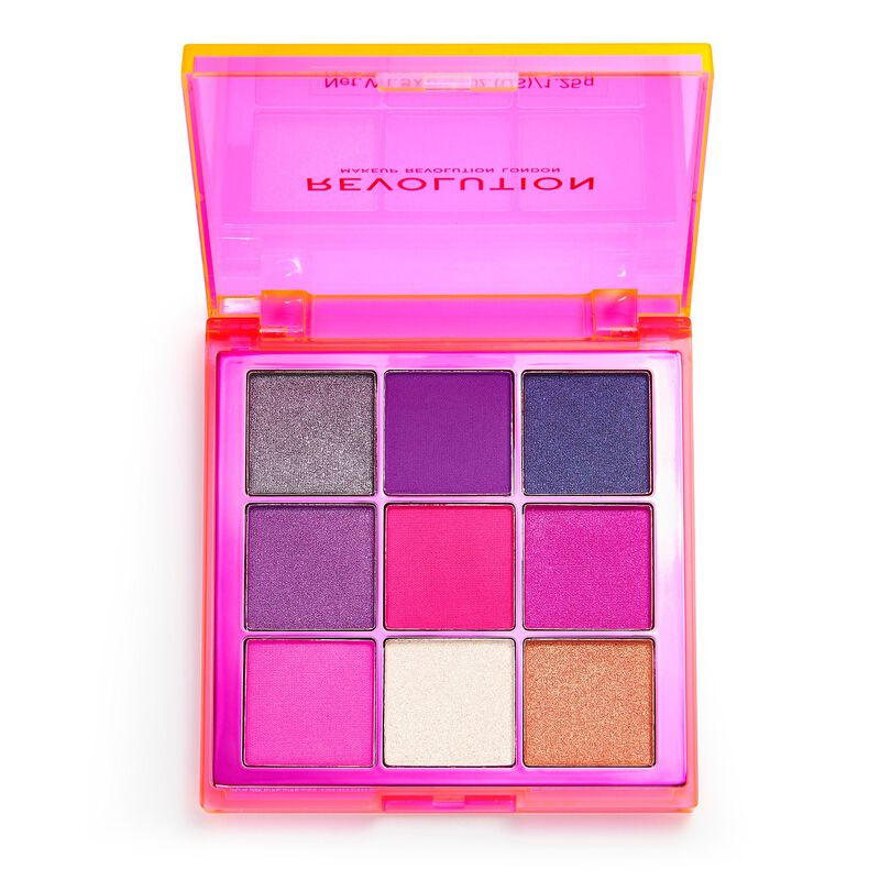Makeup Revolution Viva Neon Eyeshadow Palette Party Vibes Electric Dreams